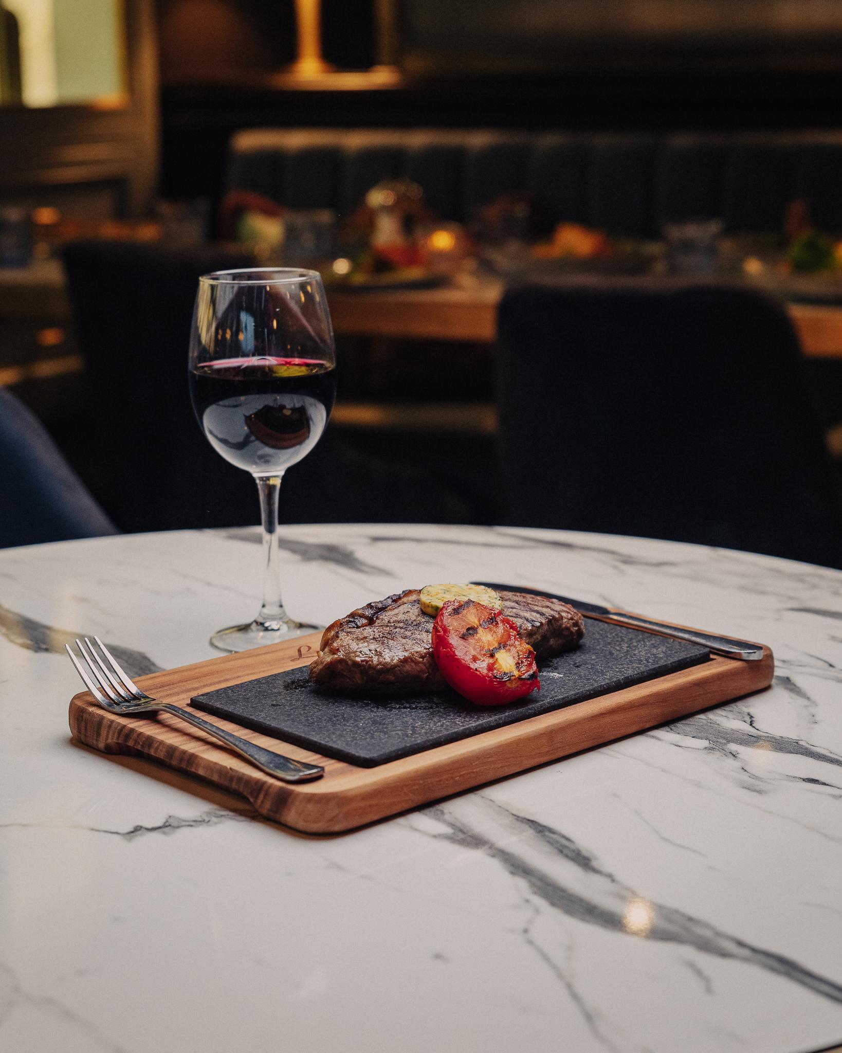 Lucia Wine and Steak